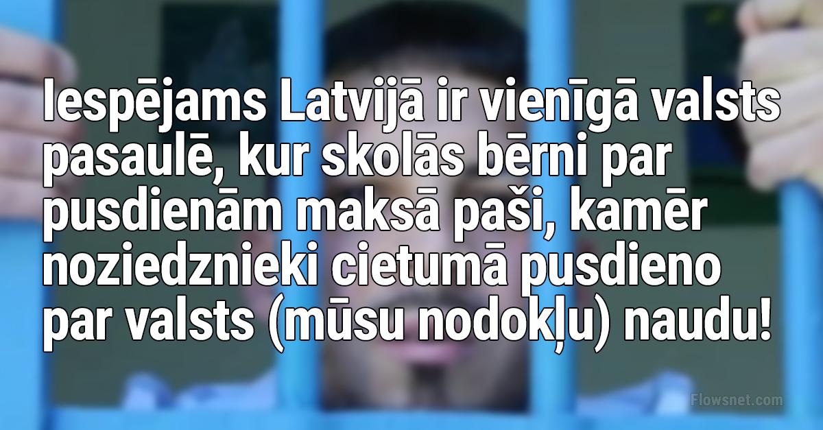 Iespējams tikai Latvijā..